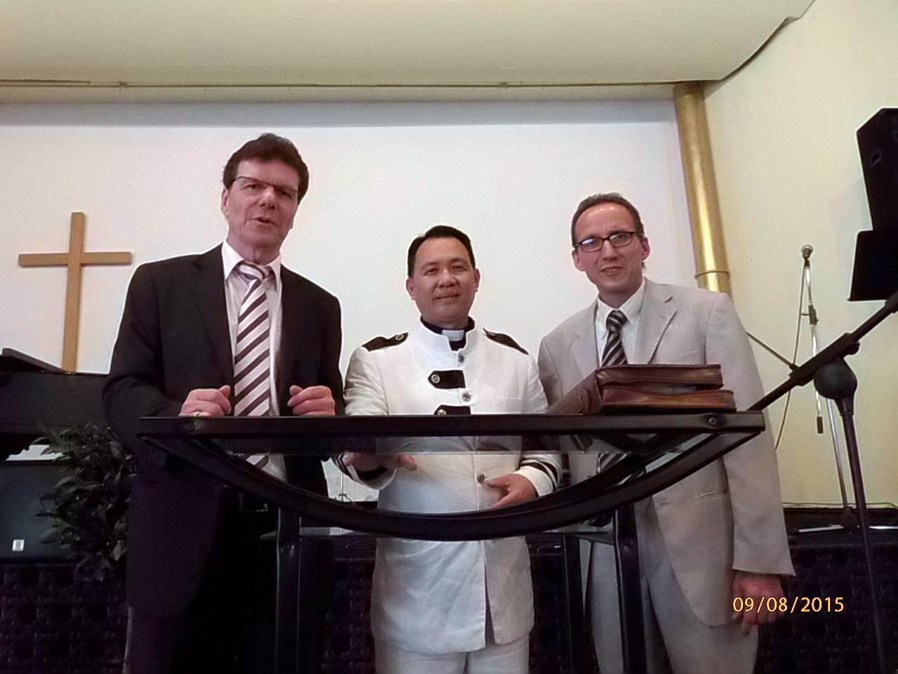 Bischof aus Malaysia zu Gast in der Nordstern-Kirche